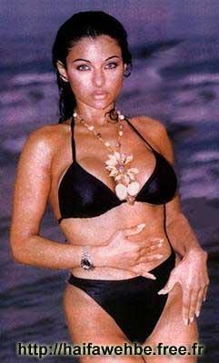 Bikini haifa wehbe 41 Hottest